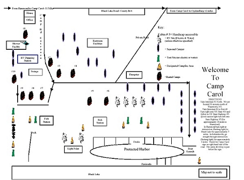 Click for Printable Map of Camp Carol